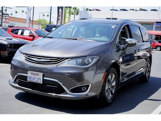 2017 Chrysler Pacifica Hybrid Platinum In Glendale Ca Dodge Jeep